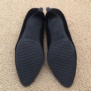 AEROSOLES Shoes - Aerosoles Black Suede Heels, Size 7.5